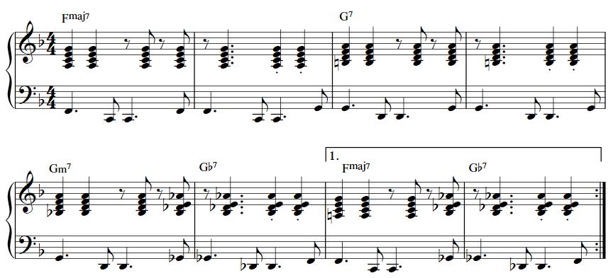 bossa nova piano 4